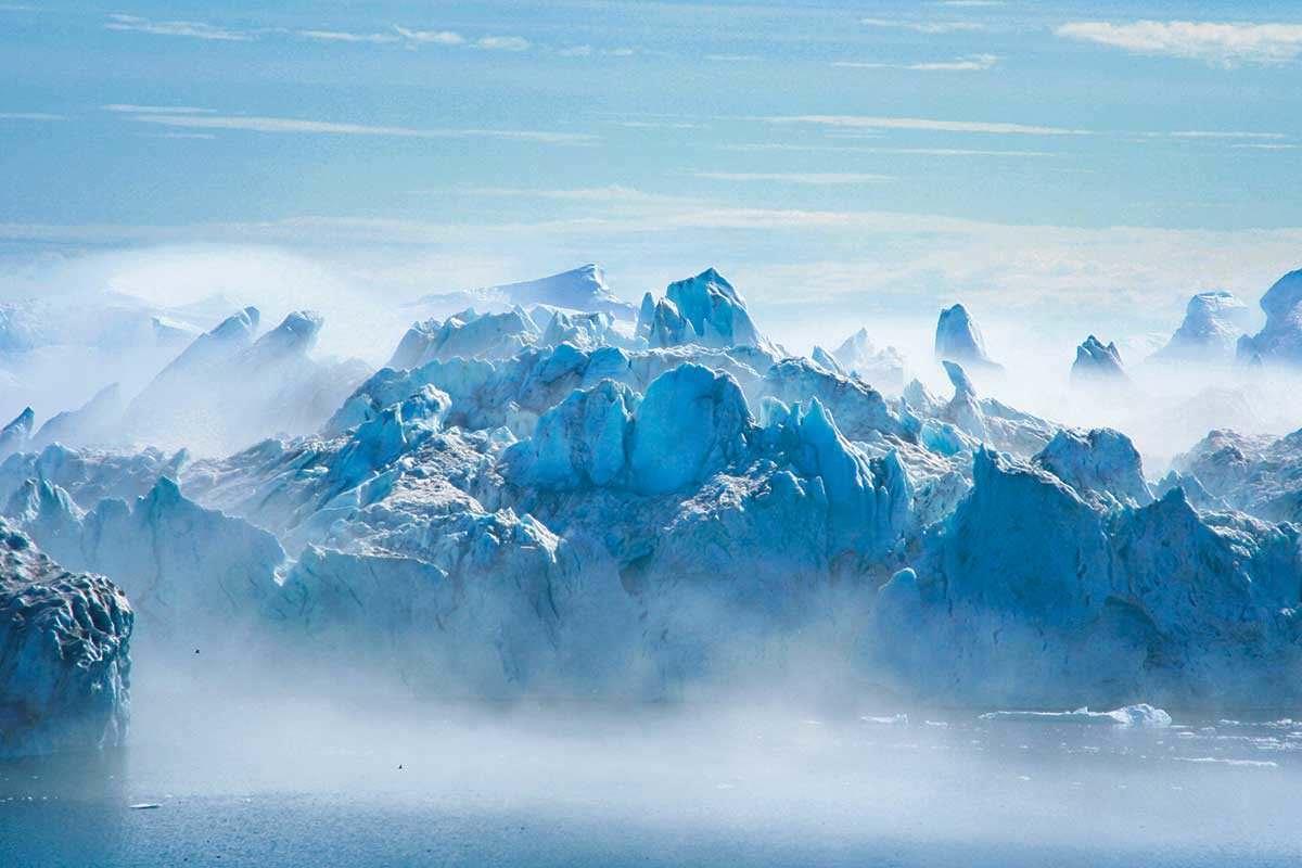 icy sea