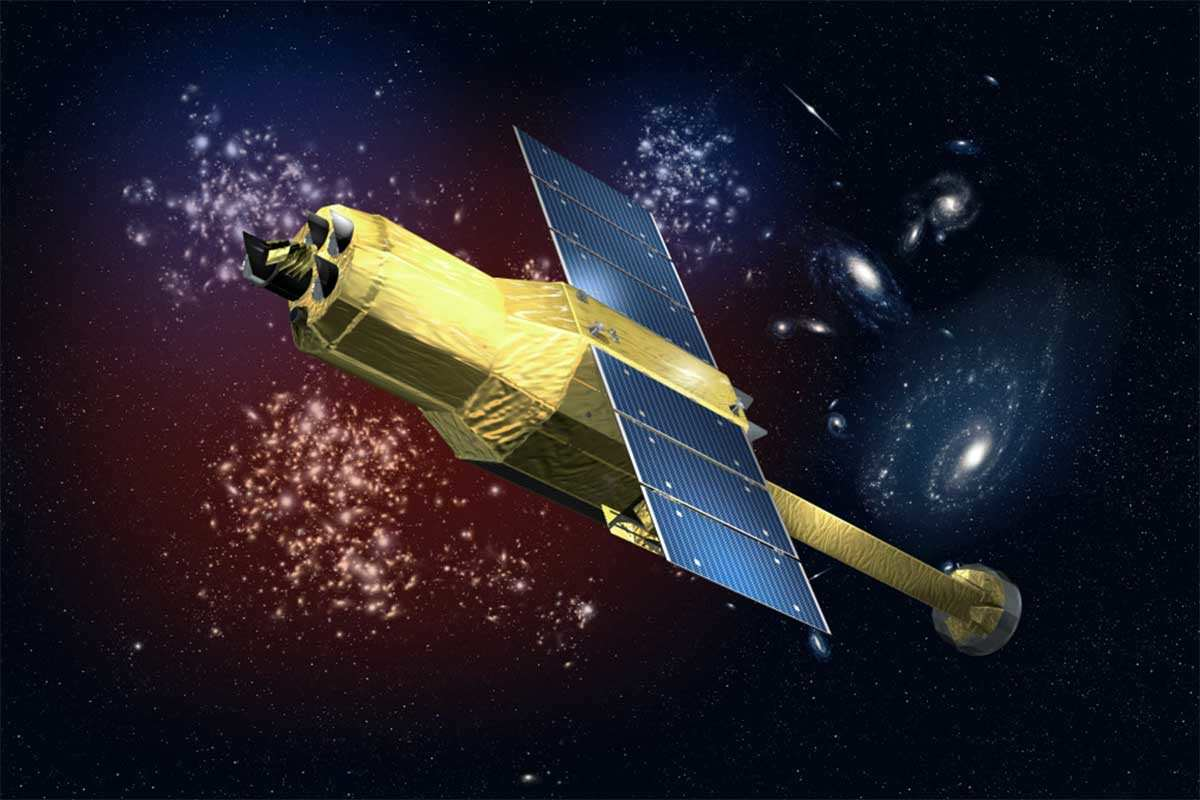 Picture of Hitomi, the Japanese Space Agency's satellite