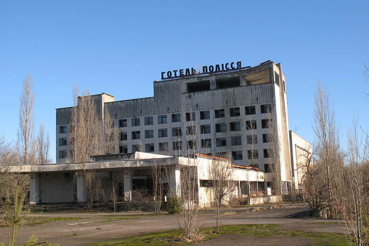 Disused building in Pripyat