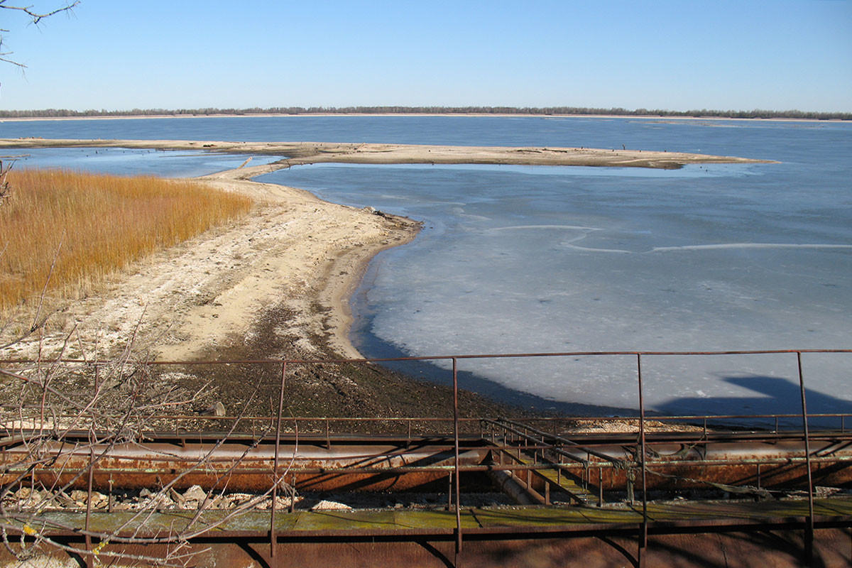 Chernobyl's cooling pond