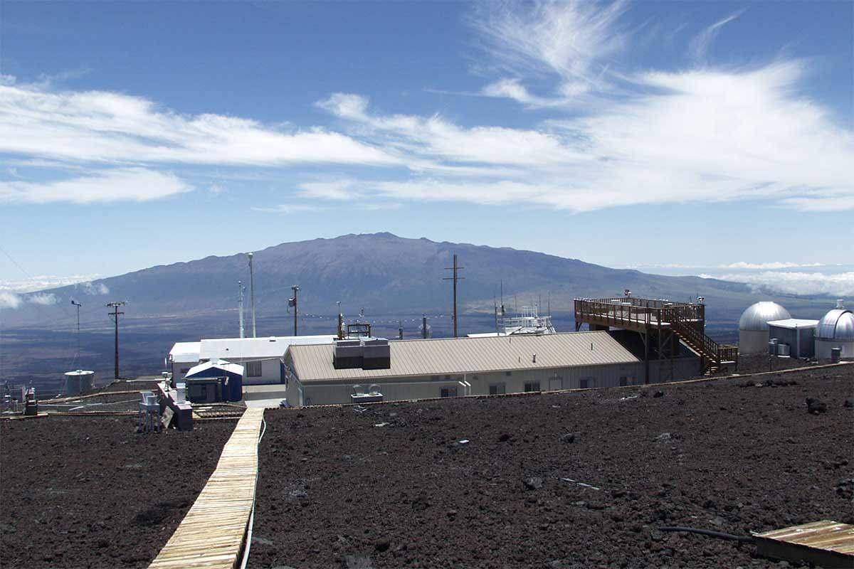 Mauna Loa Observatory in Hawaii