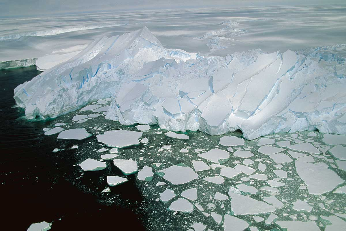 Antarctic ice may melt faster than expected