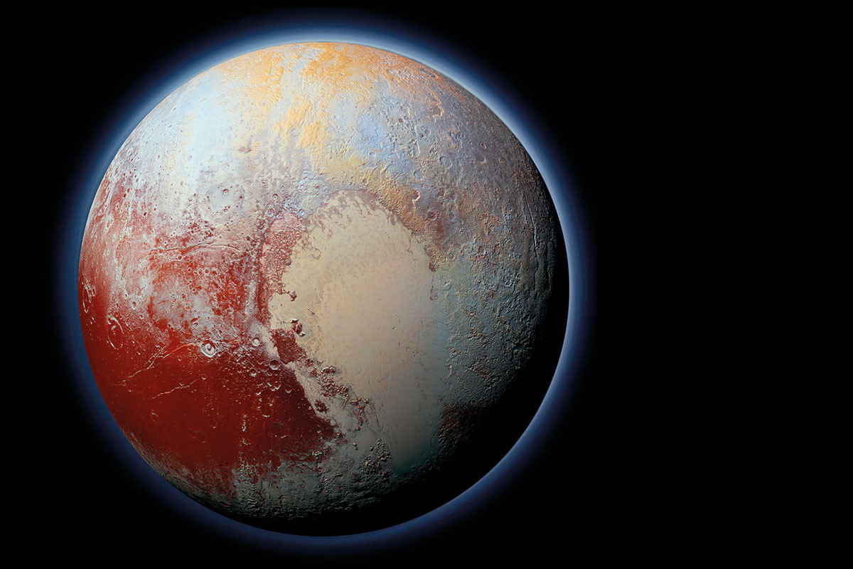 Pluto: A whole new world in 5 strange photos | New Scientist