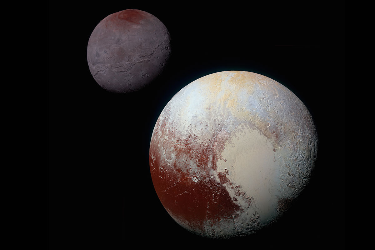 Pluto gives up its icy secrets as New Horizons data pours in