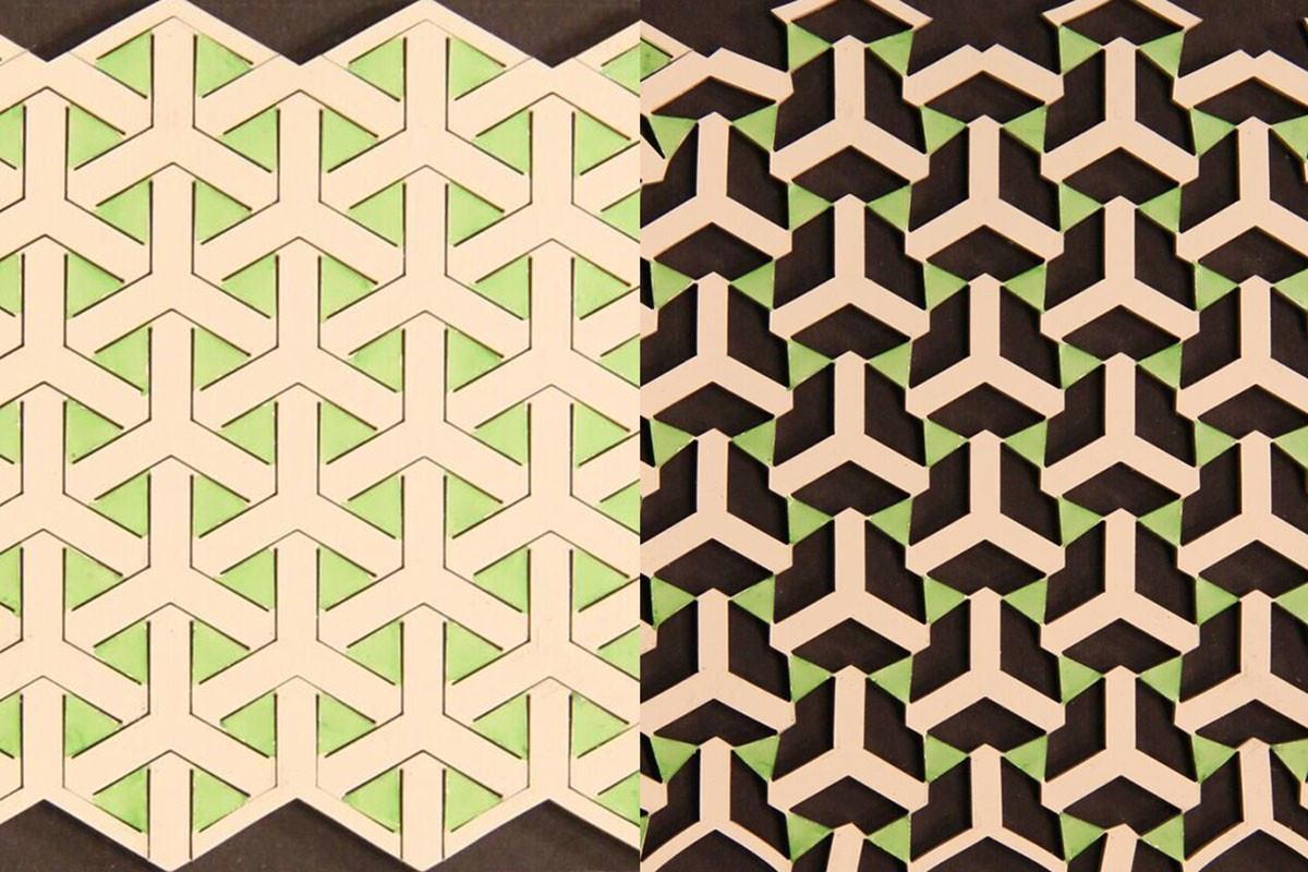Metamaterials based on Islamic designs