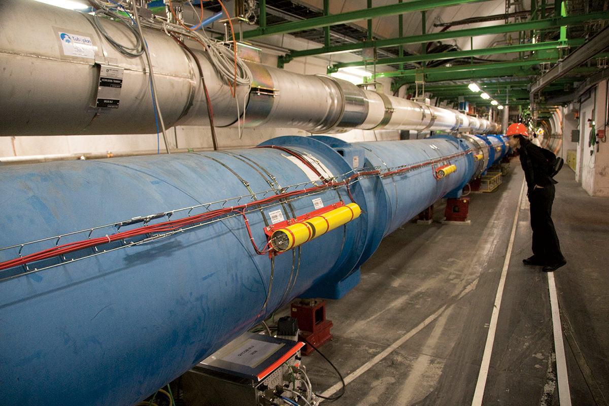 Hacking the LHC to sift trash could help find a mystery particle