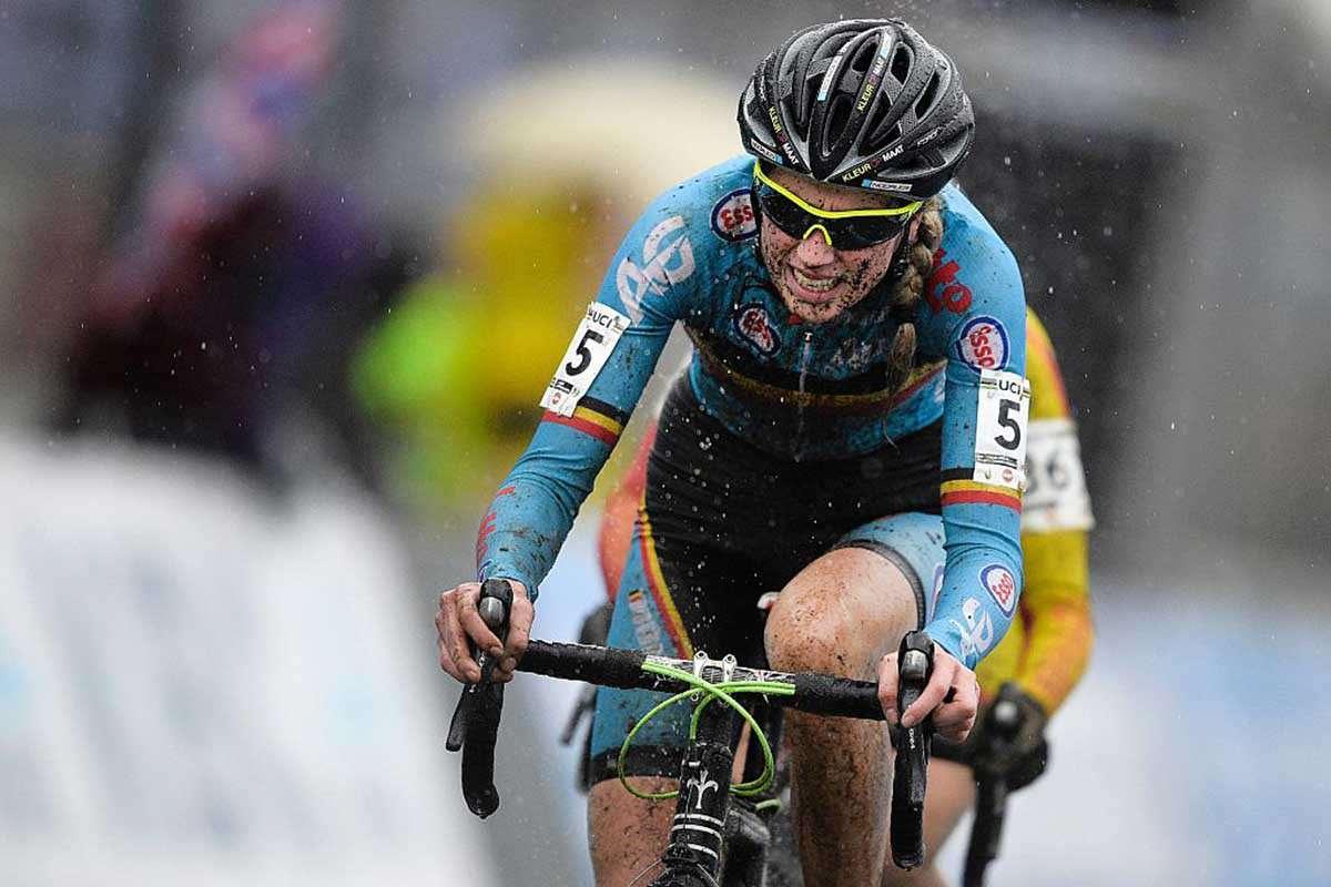 Belgian cyclo-cross rider Femke Van Den Driessche