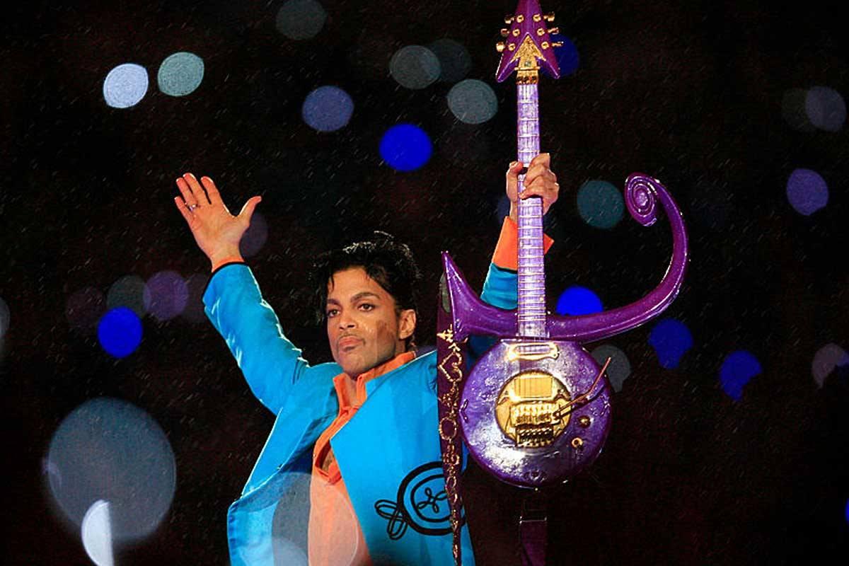 The musician Prince
