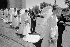 Many weddings