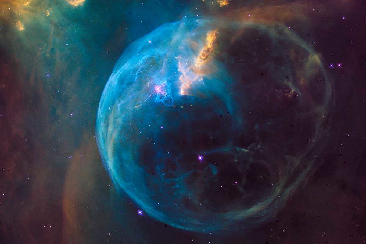 The NGC 7635 Bubble Nebula