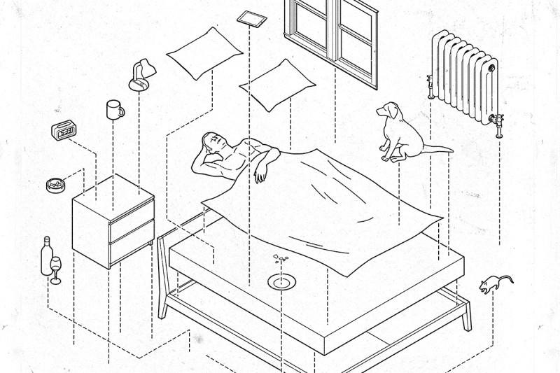 sleep cartoon