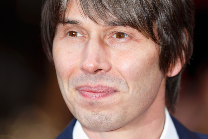 close-up of professor brian cox