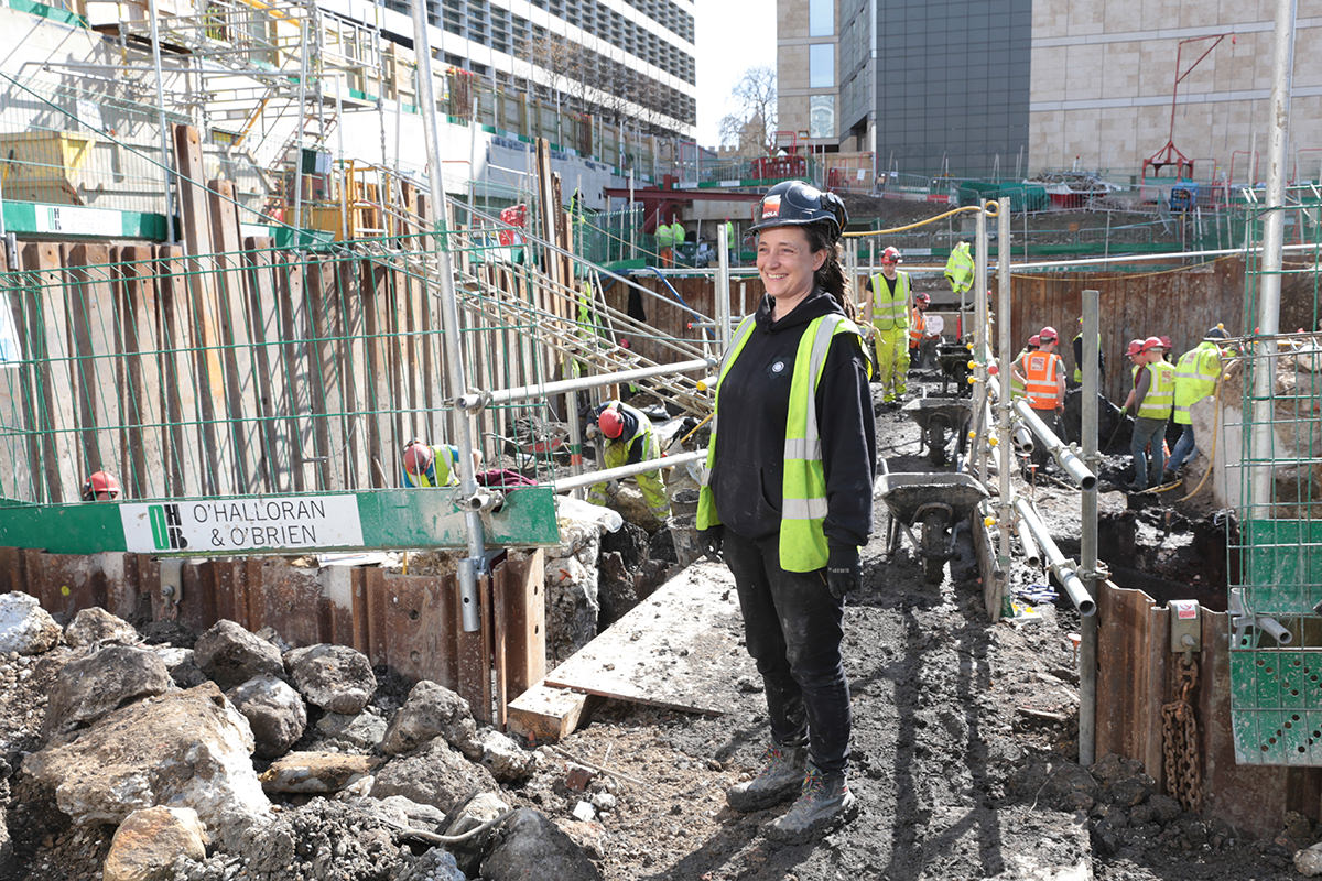 Spectacular archaeology in the shadow of London's skyscrapers