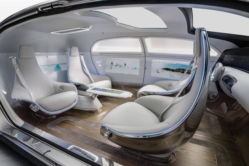 interior driverless car