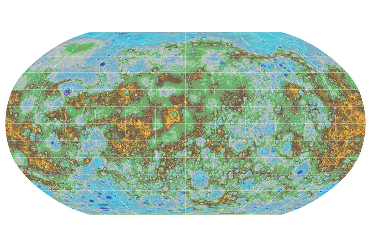 topographic map of earth nasa - photo #32