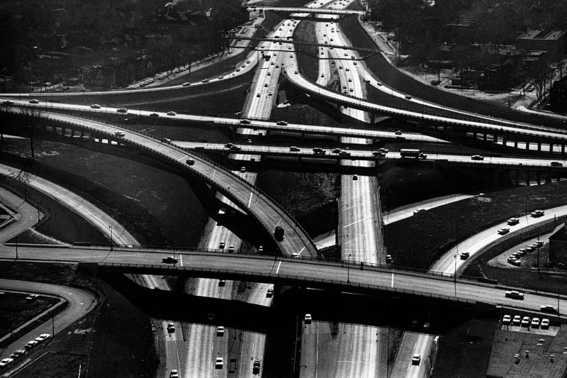 Motorway flyovers