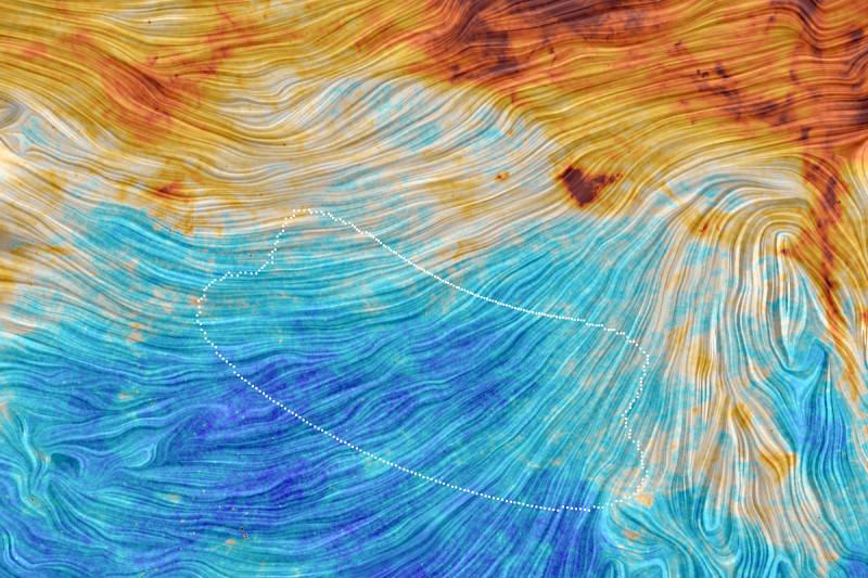 Southern sky dust emission