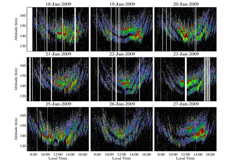 Images of radio echoes