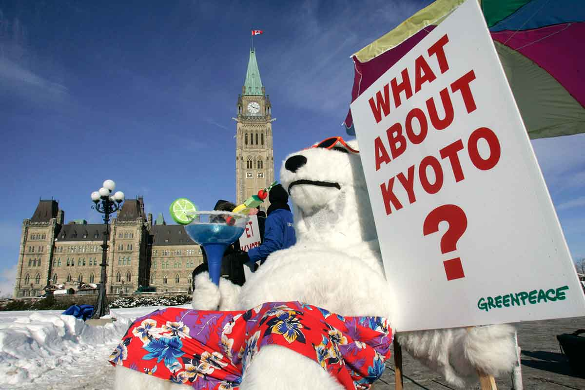 a history of the kyoto protocol Home text of the protocol essence and goals history current development challenges future signatories glossary links.