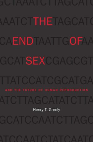 The End of Sex book cover