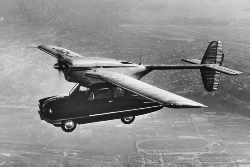 Old flying car
