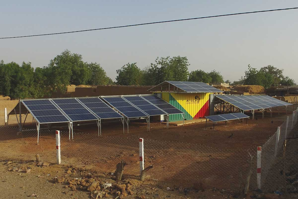 Solar power in just two hours
