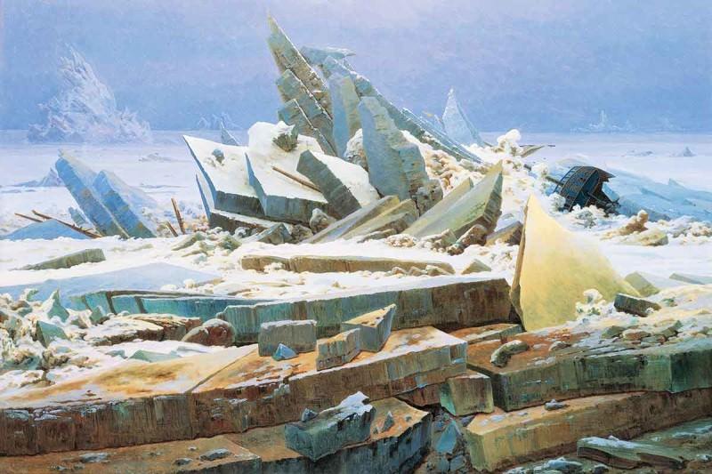 Arctic painting