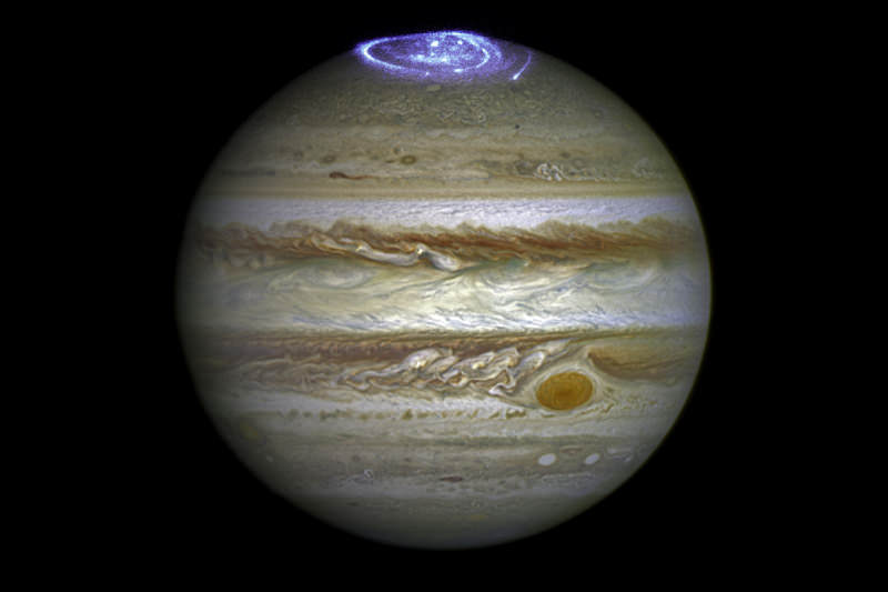 Aurora at Jupiter's poles