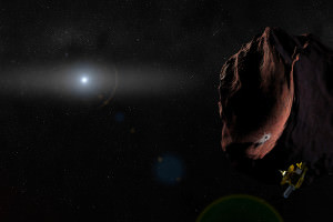 One last job... New Horizons will swing by a Kuiper belt object in 2019.