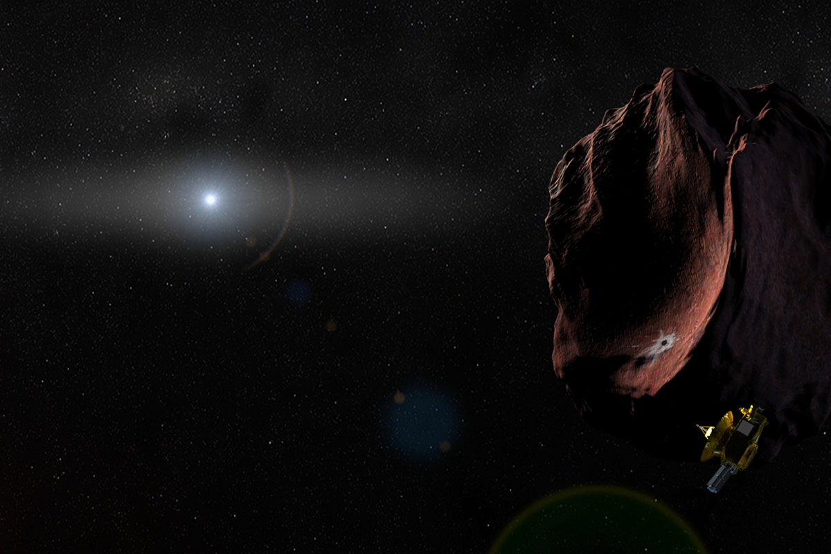 One last job... New Horizons will swing by a Kuiper belt object in 2019