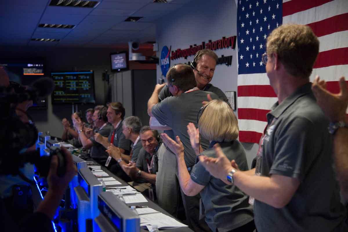 NASA celebrates