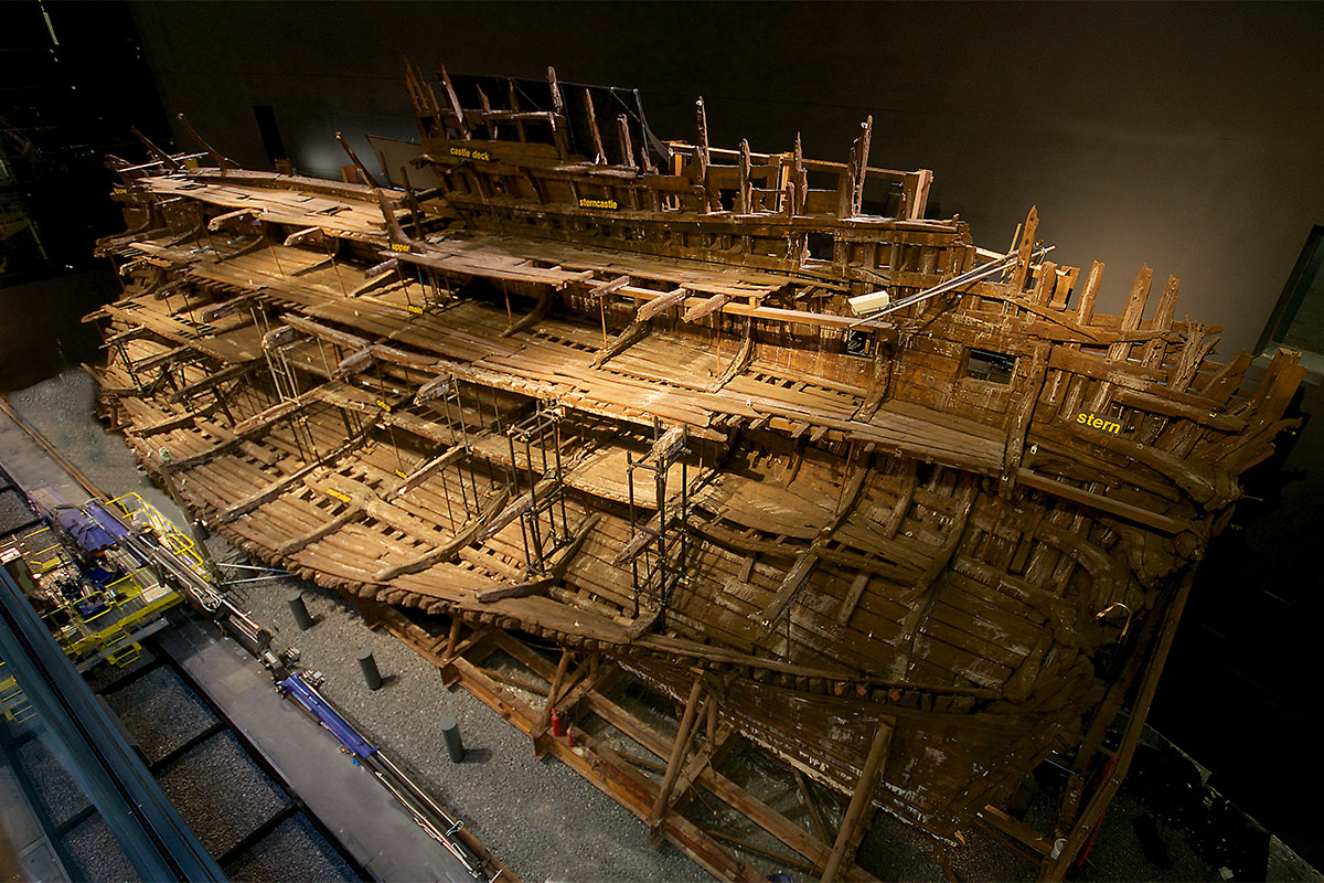 The Long Scientific Voyage Of Tudor Warship The Mary Rose