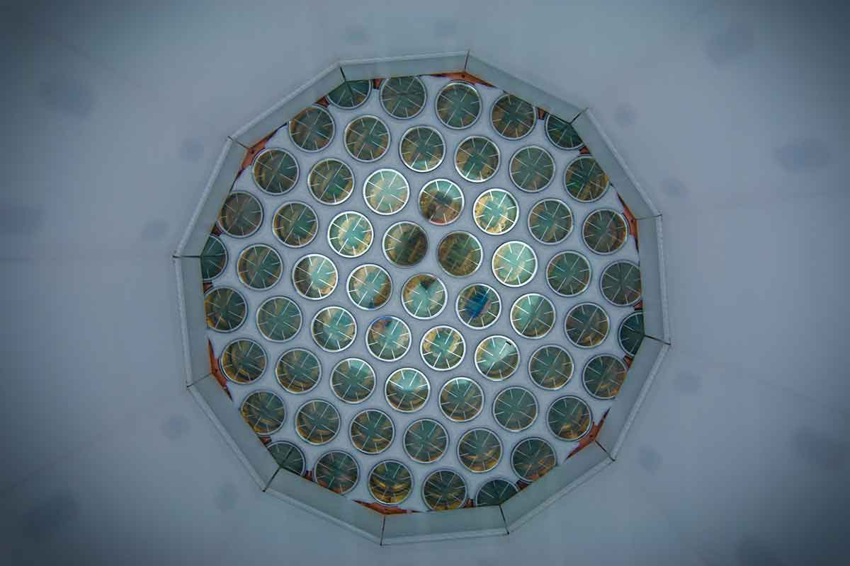 The LUX detector has sensitive eyes, but still hasn't seen dark matter