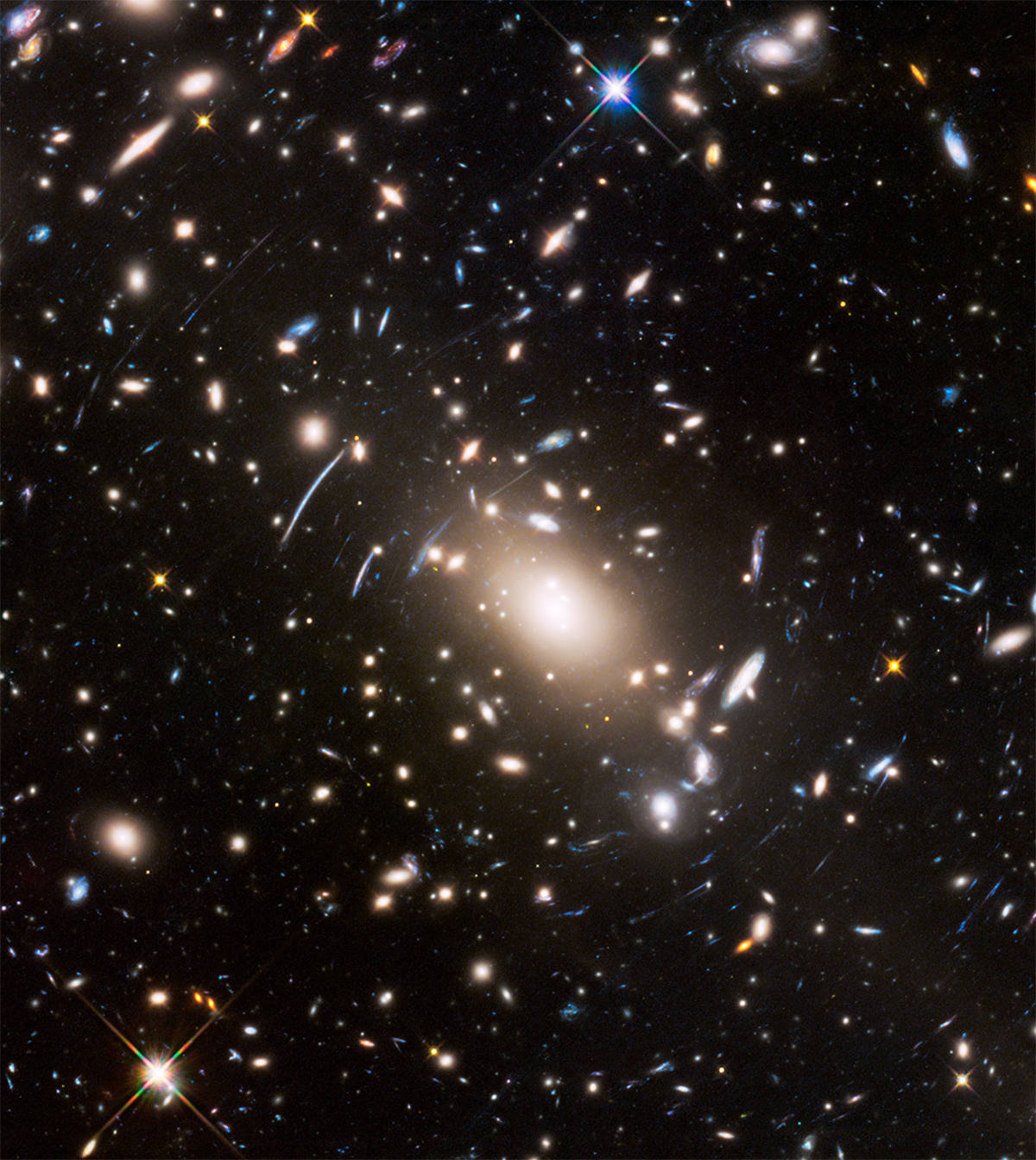 Distant galaxies imaged by Hubble