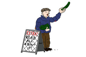 cucumber time cartoon