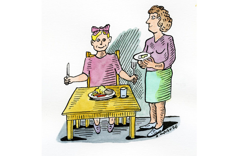 children's meals cartoon
