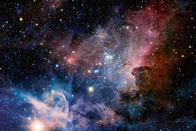 A space scene
