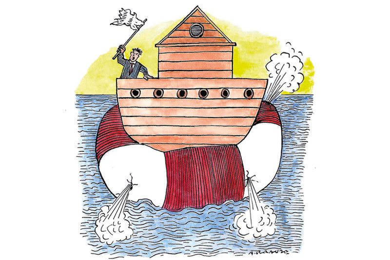 Ark cartoon
