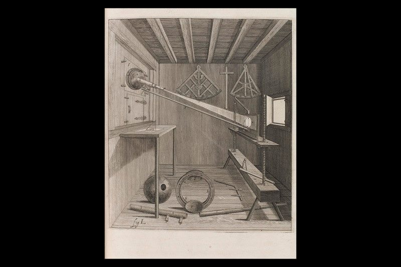 Darkened Room - Johannes Hevelius