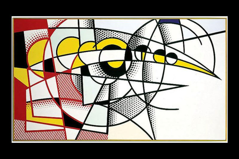 Roy Lichtenstein – Eclipse of the sun (1975)