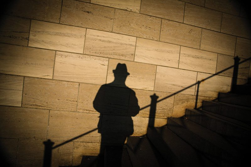 shadow figure