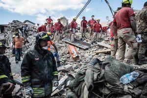 Quake devastation in Italy