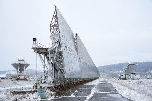 The RATAN-600 radio telescope in Zelenchukskaya