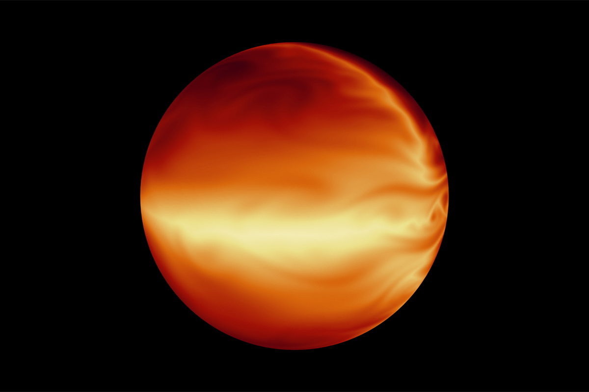 Here's what colourful clouds on alien gas giants would look like | New Scientist