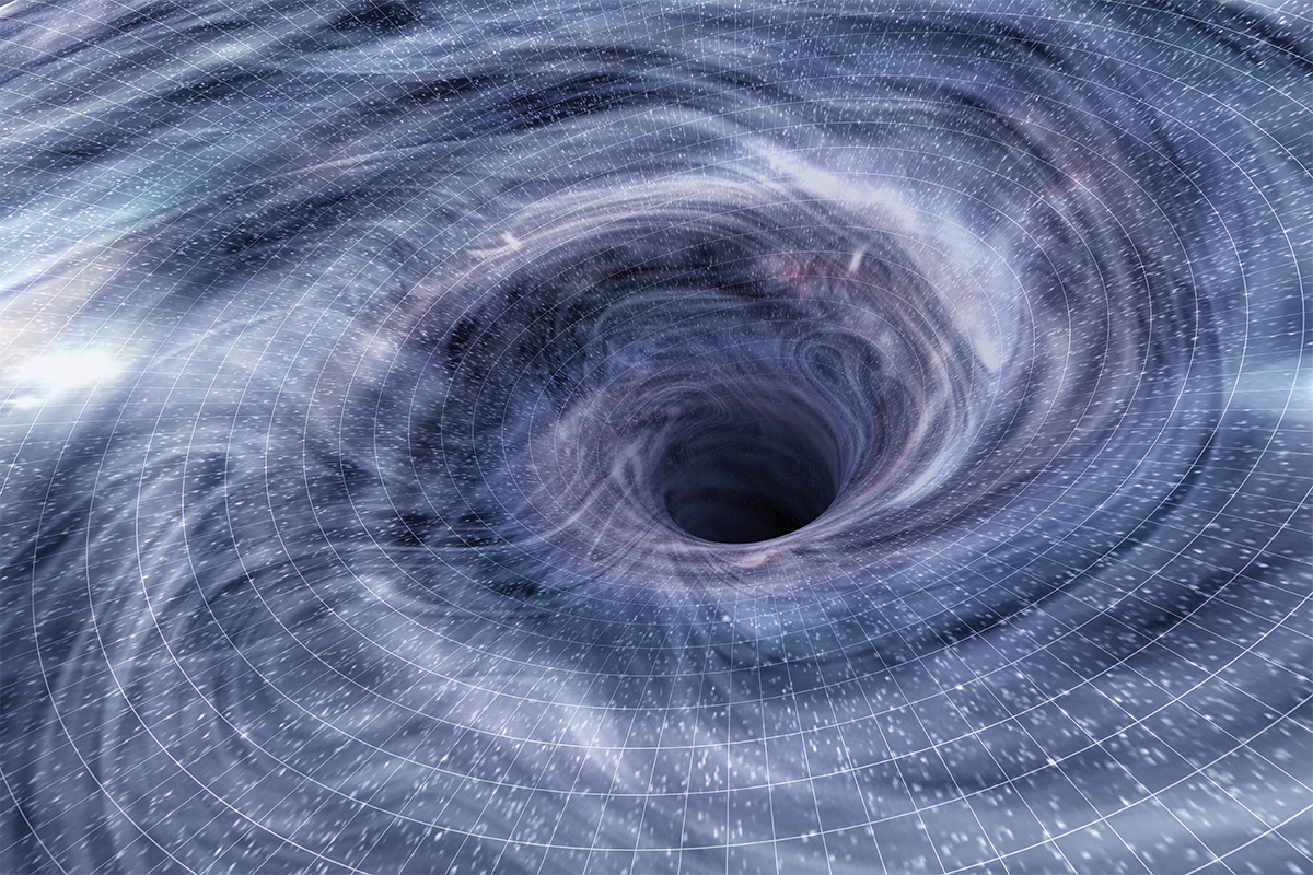 First glimpse of a black hole being born from a star's ...