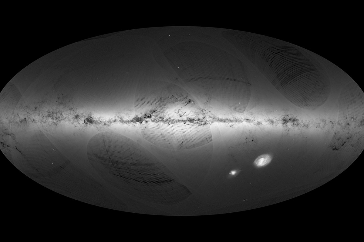 Gaia's map of 1 billion stars is the clearest view of our galaxy