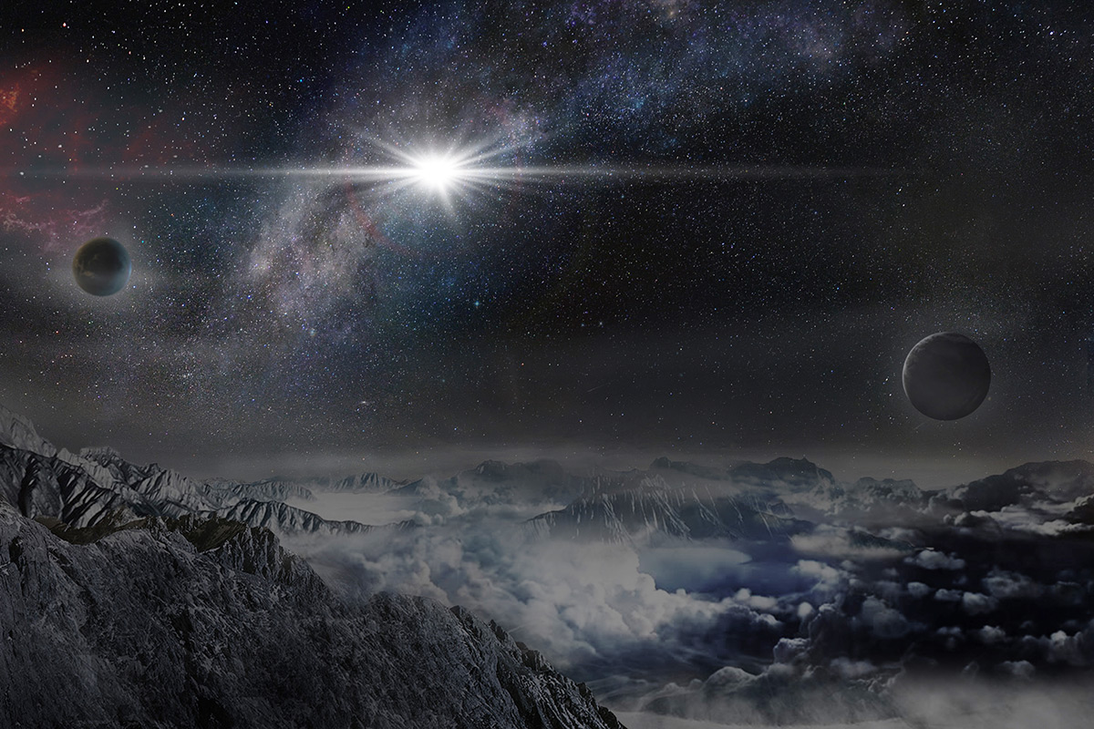 Supernova extraordinaire might actually be a black hole's lunch
