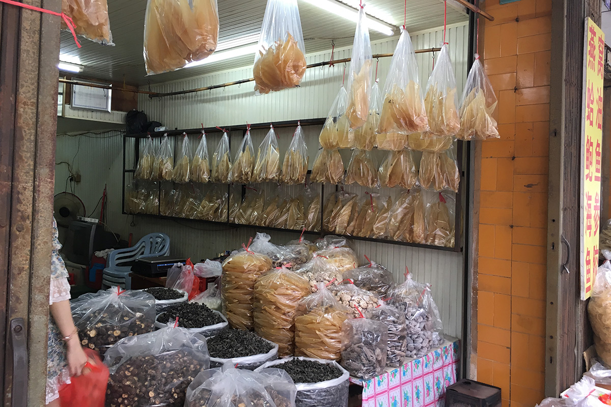 Fish wholesaler in China