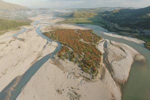Vjose river