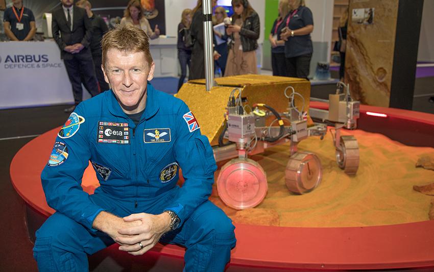 Tim Peake at New Scientist Live 2016